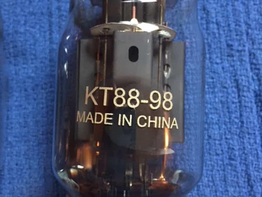 Shuguang KT88-98 QUAD, like new!