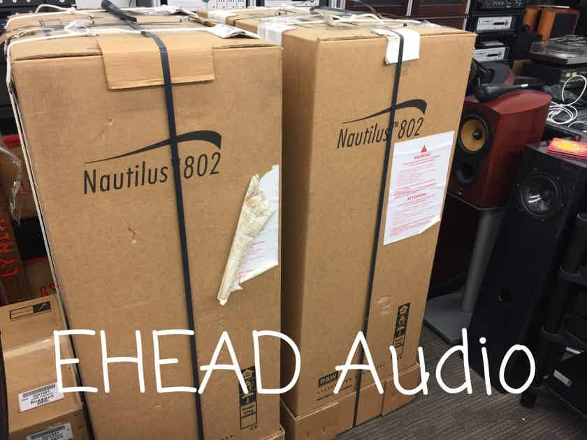 B&W Nautilus 802 Black Ash ‼️ **** Factory SEALED **** ‼️ near San Francisco...............