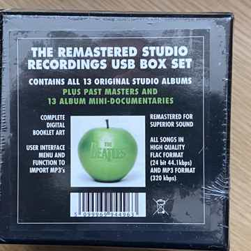 Beatles 13 albums remastered USB