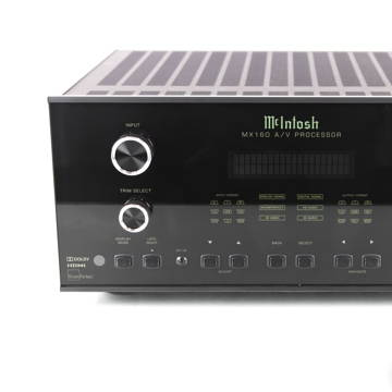 McIntosh MX160 11.1 Channel Home Theater Processor