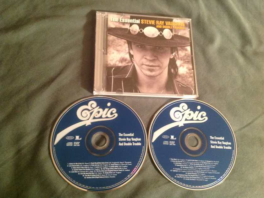 Stevie Ray Vaughan The Essential 2 Compact Disc Set