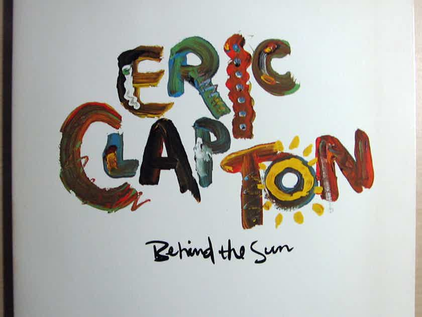 Eric Clapton - Behind The Sun - 1984 Duck Records 1-25166