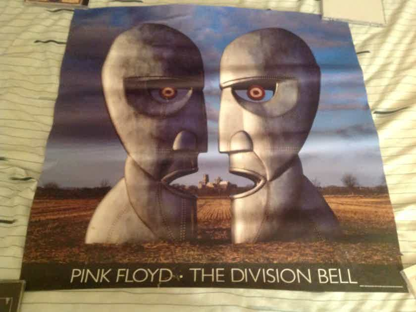 Pink Floyd  The Division Bell Columbia Records Promo Poster