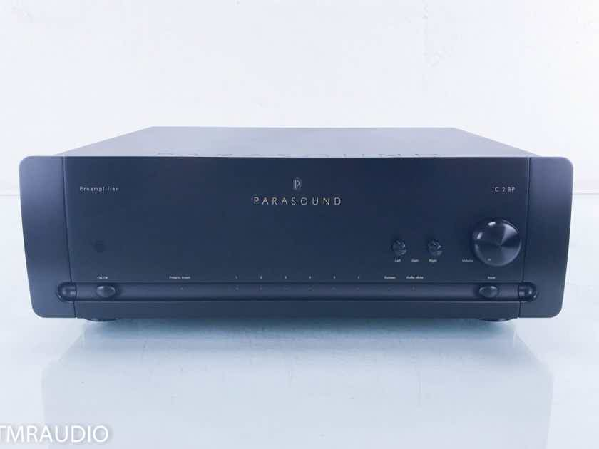 Parasound Halo JC-2 BP Stereo Preamplifier Black; Remote (13643)