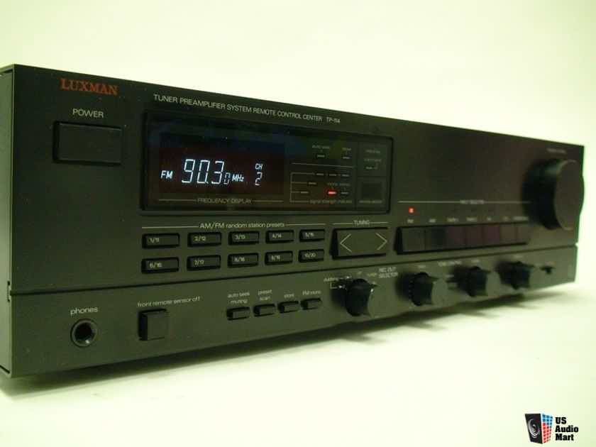 Luxman TP-114 Rare *Made In Japan* Analog Build Tuner Preamp*