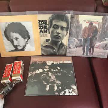 Bob Dylan Time Out of Mind and 3 more