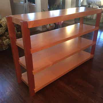 Custom 4 Maple shelve 64 inch WIDE / Stand