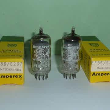 Amperex EF86 6267 Z729 Tubes