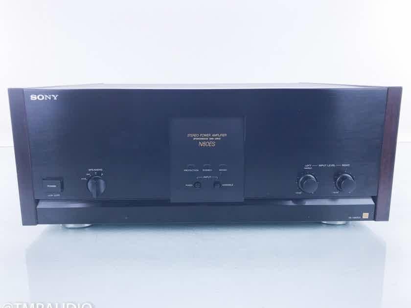 Sony TA-N80ES Stereo Power Amplifier Wood Side Panels (16191)