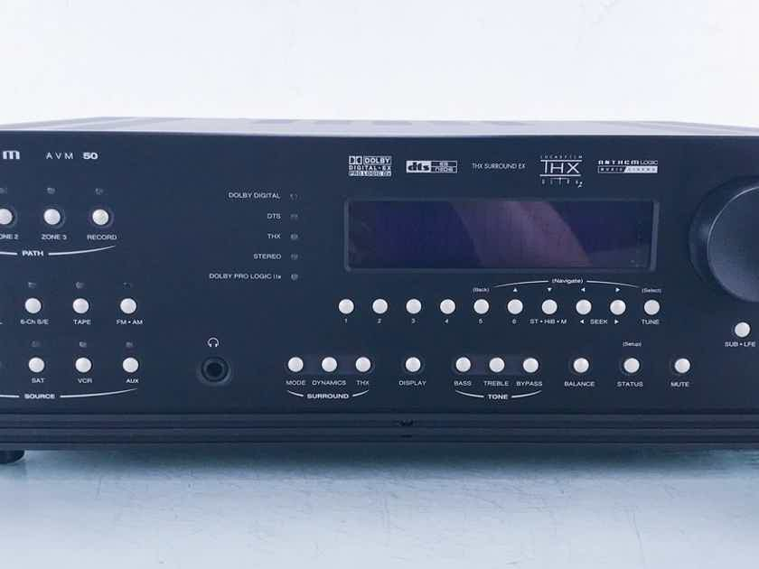 Anthem AVM 50 7.1 Channel Home Theater Processor Preamplifier; Remote (15152)