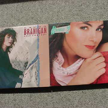 2 Laura Branigan lp records - self control and Branigan...