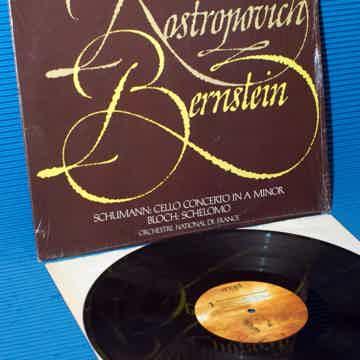 """SCHUMANN / BLOCH / Berstein / Rostropovich - """"Perform S..."""