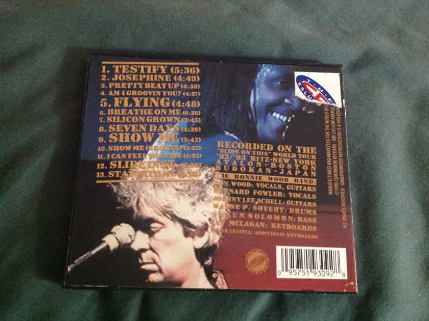 Ronnie Wood Slide On Live(Plugged In And Standing) Gold Colored Compact Disc