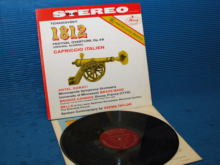 "TCHAIKOVSKY / Dorati  - ""1812 Overture"" - Mercury Living Presence 1962 Early Pressing"