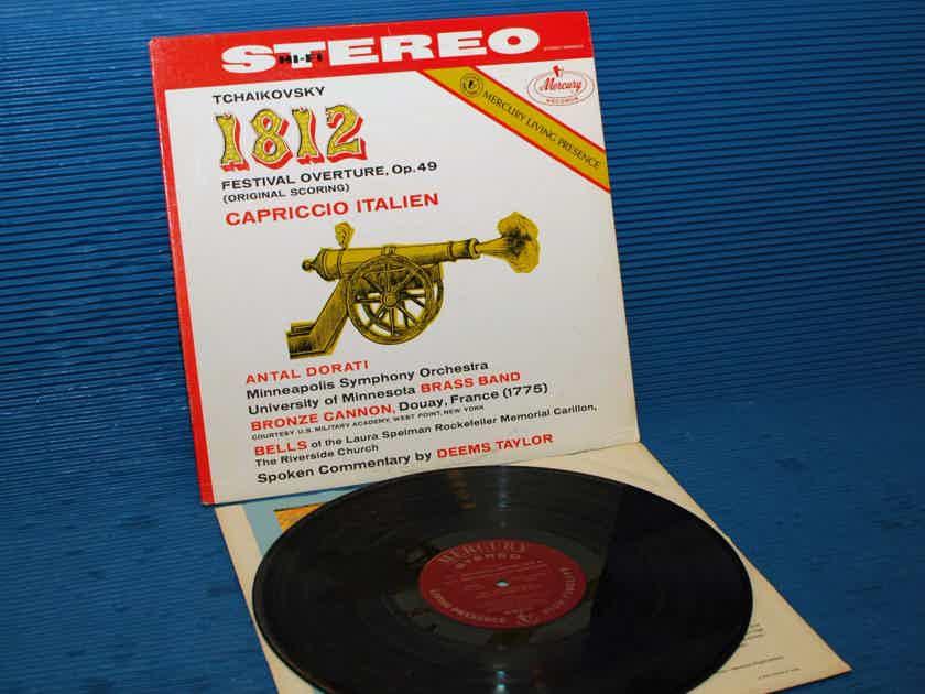 "TCHAIKOVSKY / Dorati  - ""1812 Overture"" - Mercury Living Presence 1962 Early Pressing"