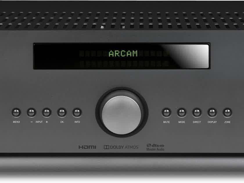 Arcam FMJ AVR390 7.2 Channel Home Theater Receiver; Black; AVR-390; 4K UHD (New) (29097)