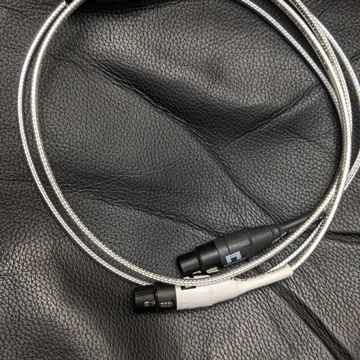 Silver Apex XLR interconnects