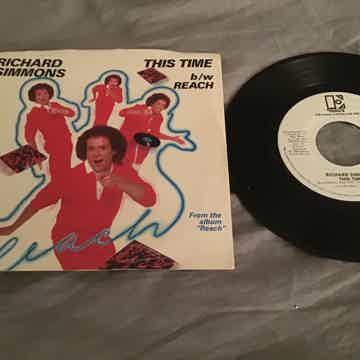 Richard Simmons Promo Mono/Stereo 45 With Picture Sleev...