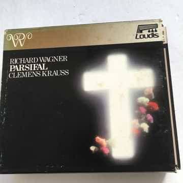 Richard Wagner Clemens Krauss  Parsifal Cd box set Laudis 1987 Korea