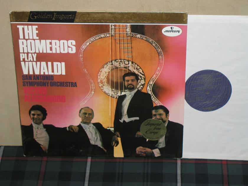 The Romeros/Alessandro - The Romeros Play Vivaldi Mercury Golden Imports