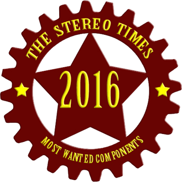 StereoTimes' Most Wanted Component Award 2016