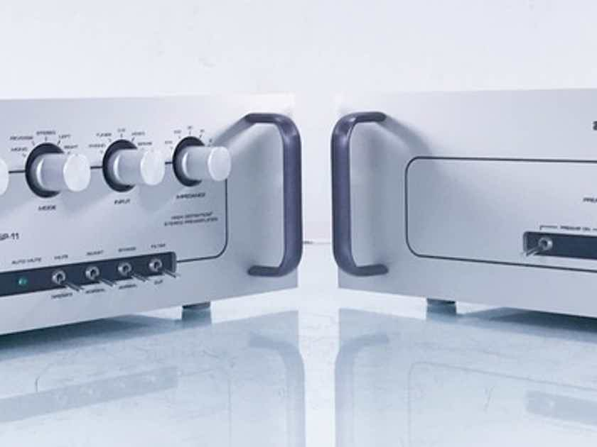 Audio Research SP-11 MkII Stereo Tube Preamplifier SP11 Mk2 (New Tubes/Parts) (14889)