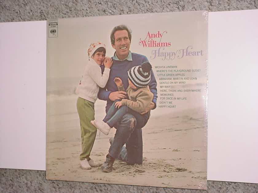Sealed lp record Andy Williams  happy heart