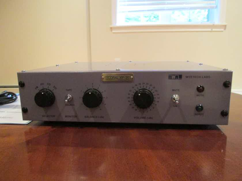 Wyetech Labs Coral Tube Linestage Preamplifier