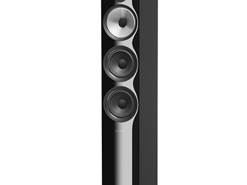 B&W (Bowers & Wilkins) 704 S2 Gloss Black / 1pr – NEW & UNOPEN/Warranty