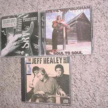 2 Stevie Ray Vaughan 1 Jeff Healey band