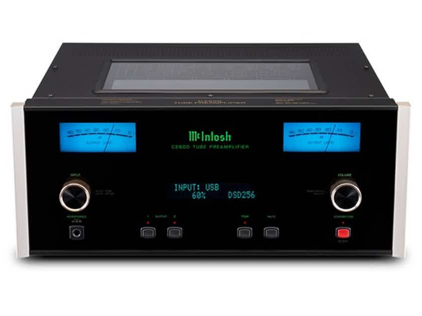 McIntosh C2600 Vacuum Tube Stereo Preamplifier new in box from auth dealer