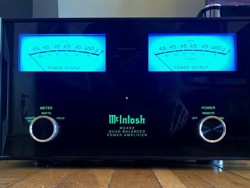 McIntosh MC-452 Power amp