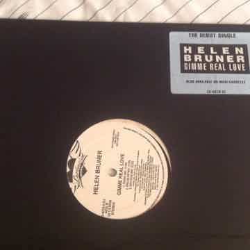 Helen Bruner Gimme Real Love Promo 12 Inch EP 5 Versions