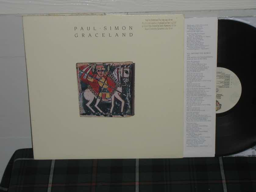 Paul Simon - Graceland WB Promo on Quiex II