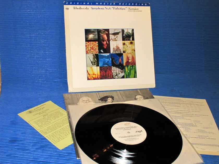 "TCHAIKOVSKY / Von Karajan  - ""Symphony No.6 'Pathetique'"" -  Mobile Fidelity / MFSL 1979"