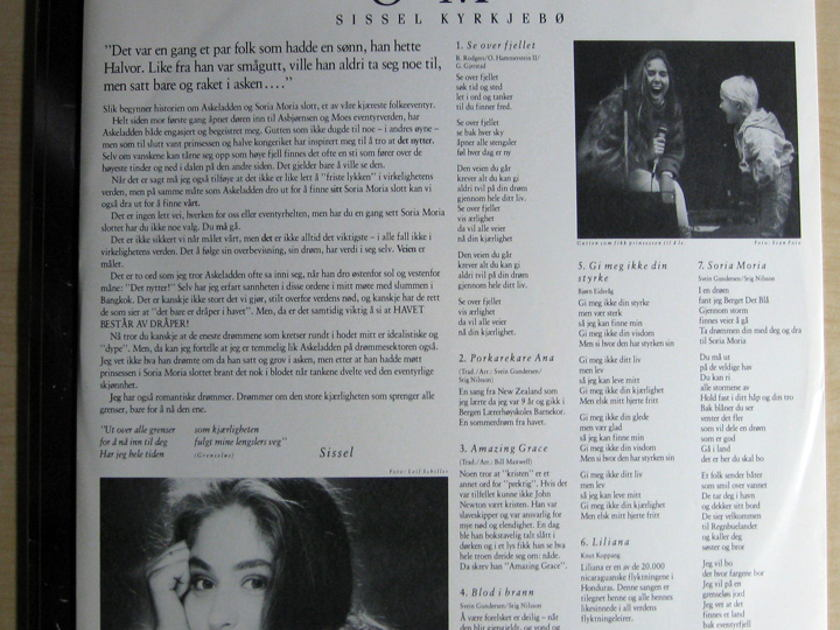 Sissel Kyrkjebo - Soria Moria - 1989 Noahs Ark NOAH LP 8901 NOEWAY