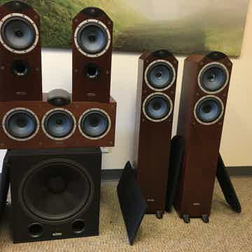 Eyris DC3/DC1/DCC/PS350B Walnut