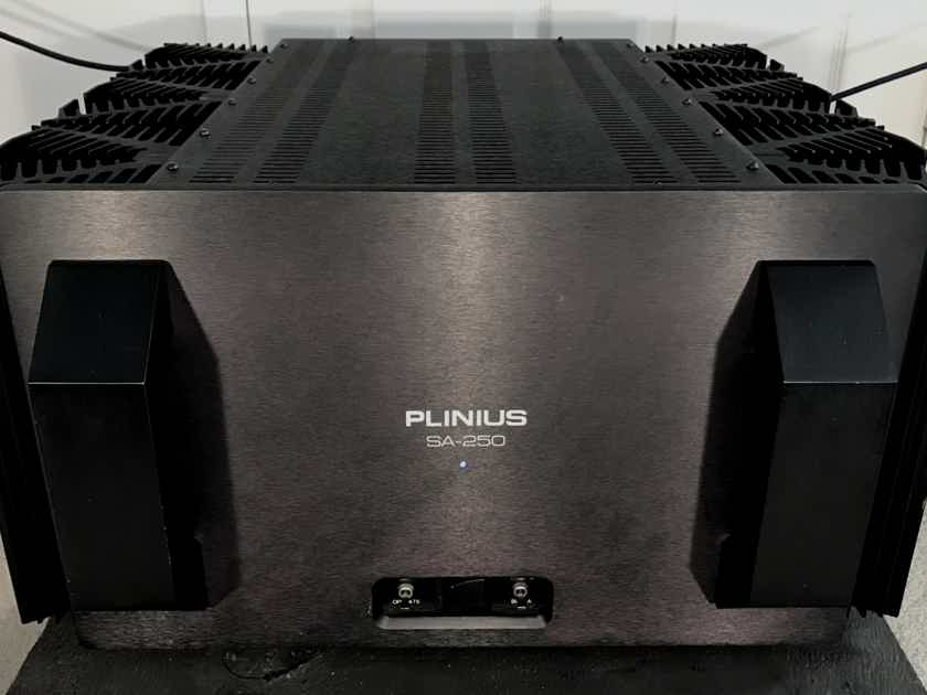 Plinius SA-250 CLASS A OR AB, 450 WATTS @ 4 OHMS, GAIN CONTROL, EXCELLENT CONDITION, FREE SHIPPING!