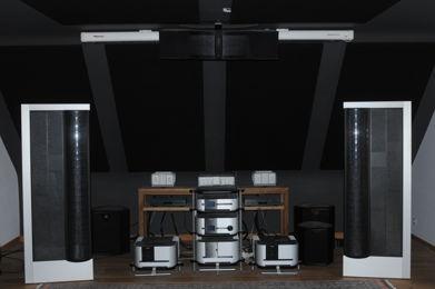 Classé Audio & MartinLogan based system