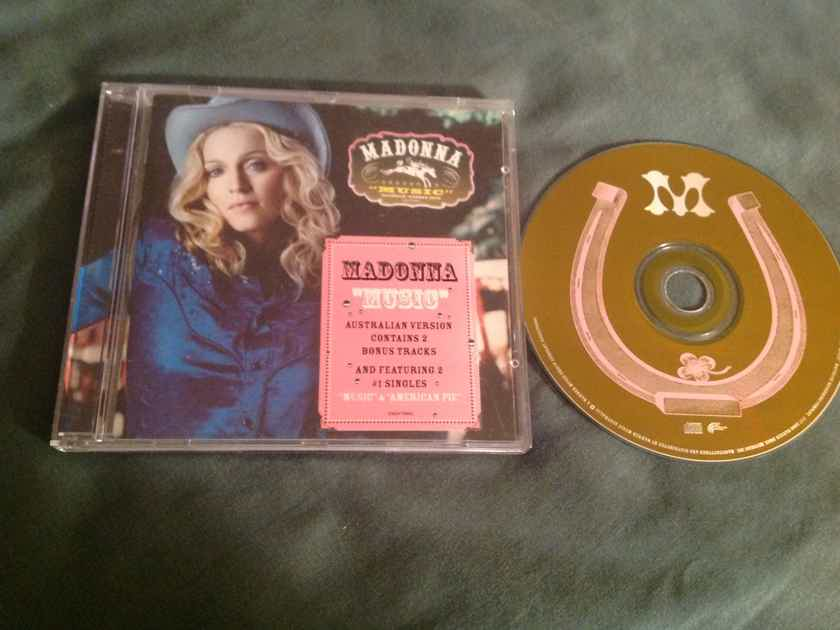 Madonna  Music Australia Version Bonus Tracks
