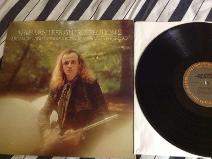 Thijs Van Leer(Focus) - Introspection No. 2 SQ Quadraphonic Columbia Records Vinyl LP NM