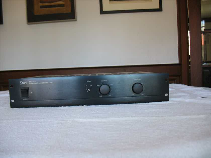 Sale Pending---Snell Acoustics  SPA-200 Subwoofer Amplifier Black