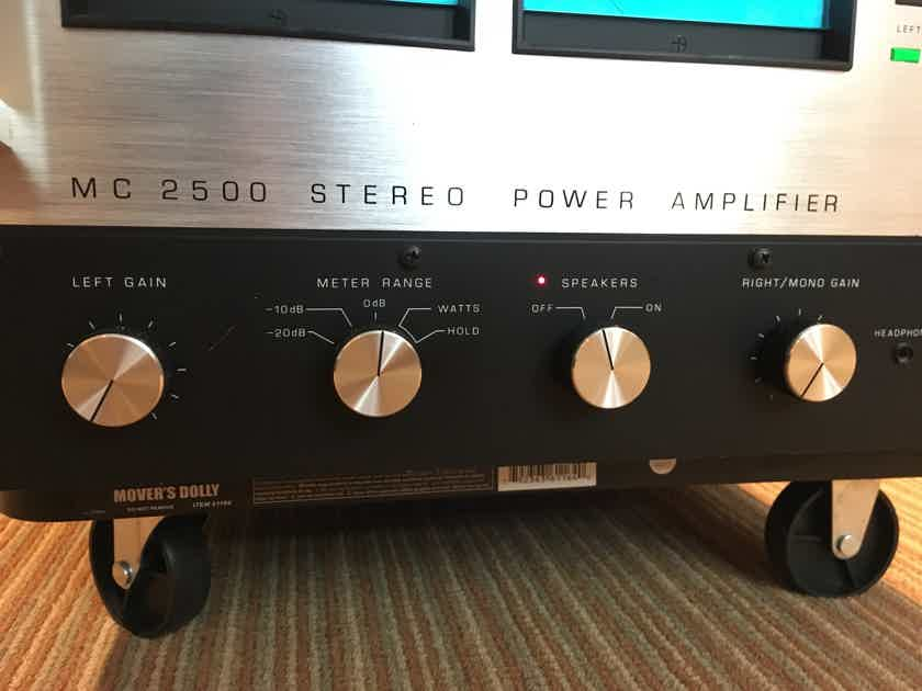McIntosh MC-2500 500W/1000W. Complete and Tested