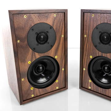 Graham Audio LS3/5A speakers in Rosewood (brand New)