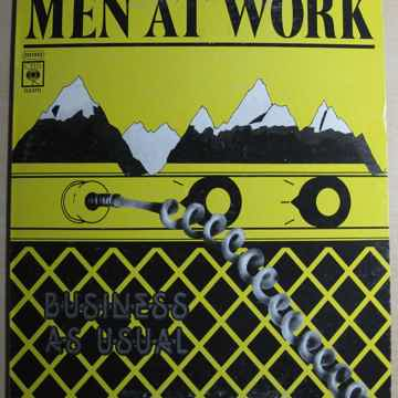 Men At Work - Business As Usual - MEXICO IMPORT 1982 CB...