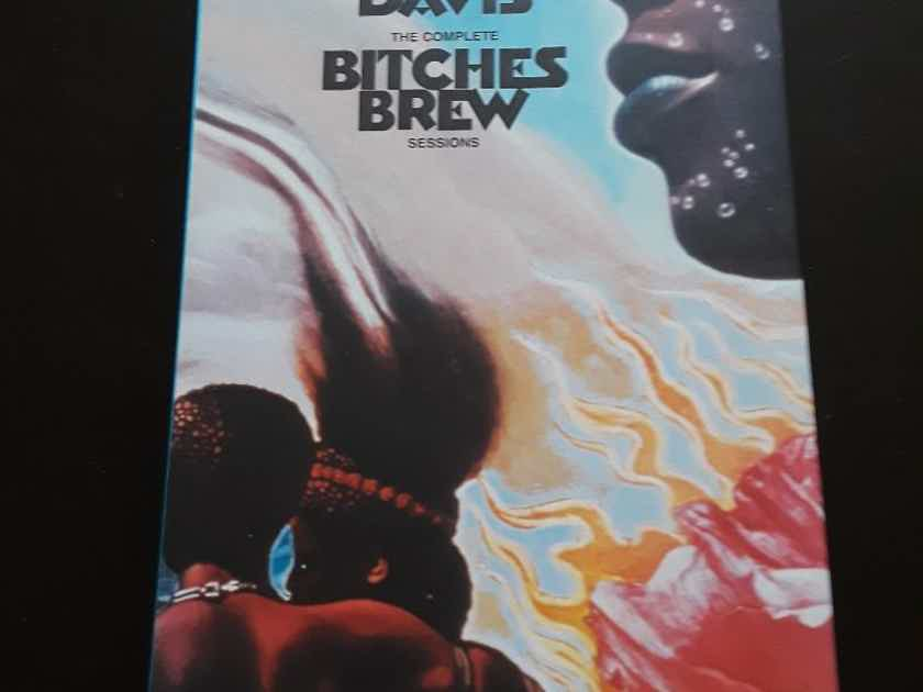 Miles Davis - The Complete Bitches Brew Sessions 4CD Longbox Set with Booklet - 2004 from Columbia