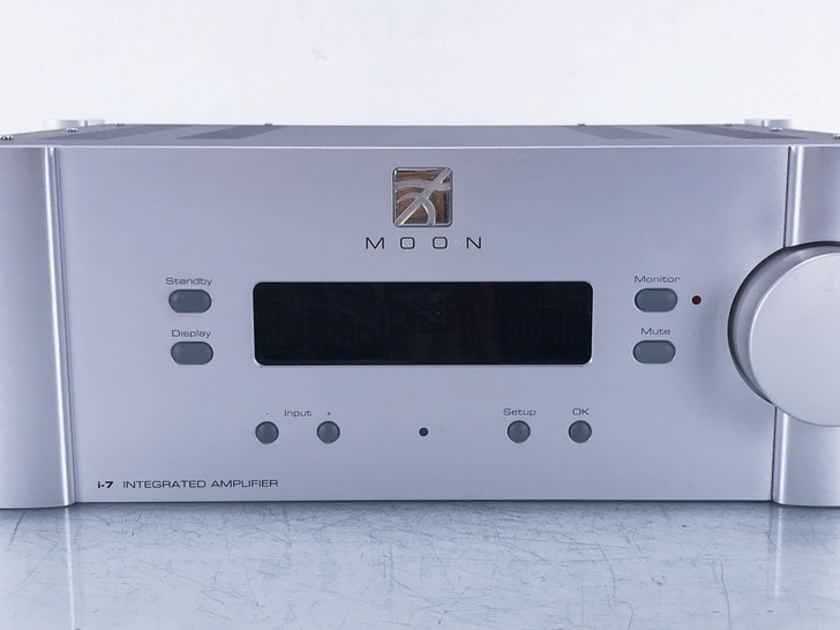 Simaudio Moon i-7 Stereo Integrated Amplifier i7; Remote (15513)