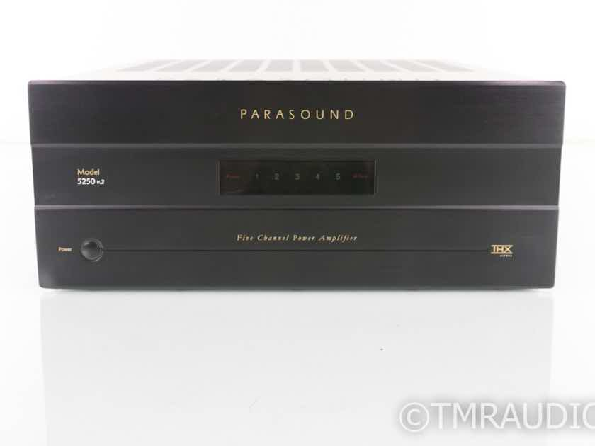 Parasound Model 5250 v.2 5 Channel Power Amplifier (19321)