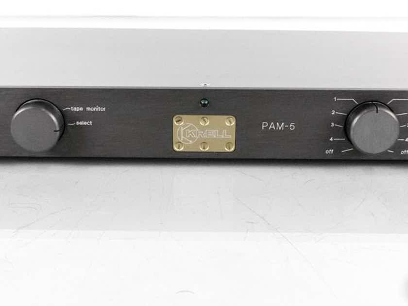 Krell PAM-5 Stereo Preamplifier; PAM5; MC Phono (22684)