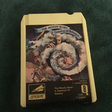 Moody Blues  A Question Of Balance Quadraphonic 8 Track